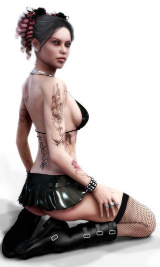 3D Beautiful Girls