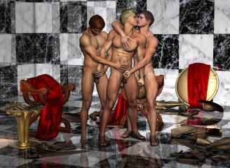 3D Gay Villa