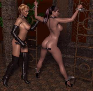 3D Lesbian Factor