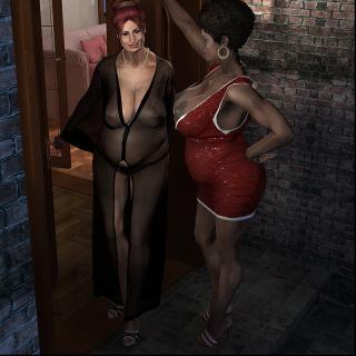 3D Lesbians