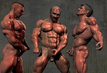 3D Muscle Gay Porn