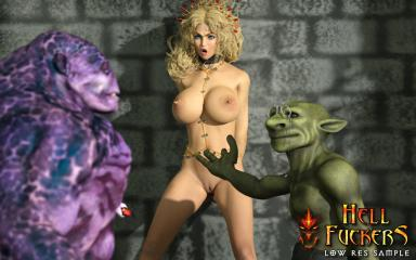 Creature from hell sex