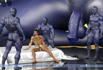 Monsters vs Gays
